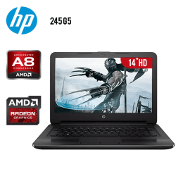 "Laptop HP 245 G5 A8-7410 AMD A8 8GB 1TB Tarjeta de Video Radeon R5 14"" HD"