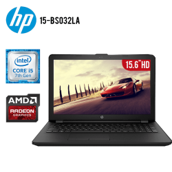 "Laptop HP 15-BS032LA Core i5-7200U, 8GB RAM, 1TB DD, T.Video AMD Radeon 520, 15.6"" HD, DVD, Freedos"