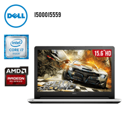 "Laptop Dell Inspiron I5000 I5559 Core i7 8GB TB Radeon R5 15.6"" HD"