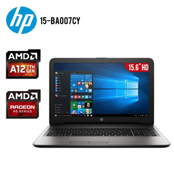 "Laptop HP 15-BA007CY AMD A12 12GB 2TB Tarjeta de Video Radeon 5 15.6"" HD"