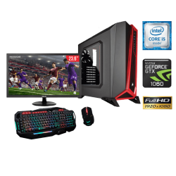 "Equipo de Computo Gamer Intel Core i5-6400 2.70 GHZ,16GB RAM, 1TB DD, LED FHD 23.6"", DVD SUPERMULTI"