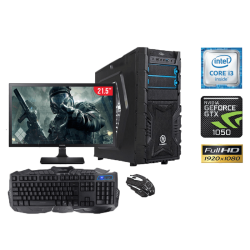 "Equipo de Computo Gamer Intel Core i3-6100, 8GB RAM, 1TB DD, LED, 21.5"", DVD SuperMulti"