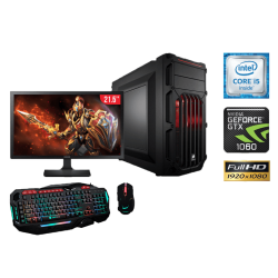 "Equipo de Computo Gamer Intel Core i5-6400,16GB RAM, 1TB DD, LED 21.5"" , DVD SuperMulti"