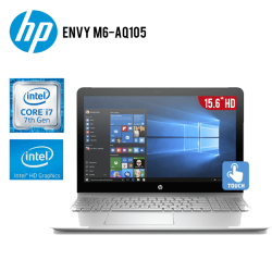 "LAPTOP HP ENVY M6-AQ105X360 CONVERTIBLE CORE I7 16GB 1TB TARJETA DE VIDEO HD GRAPHICS 15.6"" FHD"