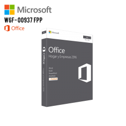 Microsoft Office Home & Business 2016 Mac 32/64 W6F- 00937 FPP
