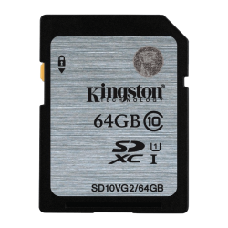 Memoria SD Kingston SD10VG2 64GB
