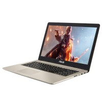 "LAPTOP ASUS VIVOBOOK M580VD-EB76 INTEL CORE I7-7700HQ 16 GB 1TB 256 SSD TARJETA DE VIDEO GTX1050 4GB 15.6"" FHD WIN 10"