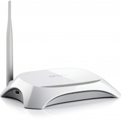 Router Inalámbrico, TP-LINK, TL-MR3220, 3G, 3.75G, 150Mbps, WAN, 4G