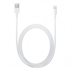 Mini Lightning Apple, Cable de Datos, USB iPhone 5, Compatible con iPads de 4 Gen., Reversible, Compacto, Seguro y Confiable