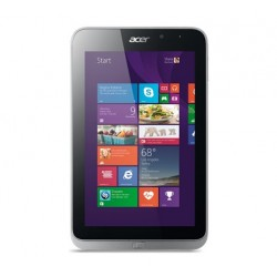 TABLET ICONIA W4-820 ATOM Z3740 1.33 GHZ MEMORIA 2GB, 64GB DISCO DURO, 8 PLG SO. WIN8.1 PLATA