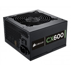 FUENTE CORSAIR CX600 600W 80 PLUS BRONZE CERTIFIED POWER SUPPLY