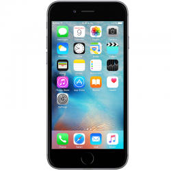 Iphone 6S Gris - 64GB, iOS 9, Video 4K y Full HD, Cámara Front. 5mpx., Cámara Princ. 12mpx