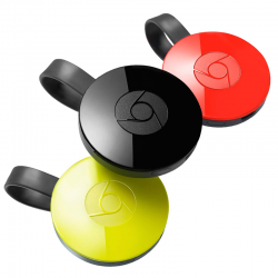 Google - Chromecast 2 - HDMI Streaming Media Player, Soporta Netflix, Youtube, HBO Go, Hulu Plus, Pandora, Google Play