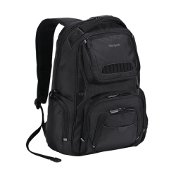 "Mochila Targus Backpack Legend IQ Mod. TSB705US 16"" Black, Resistente, Completa y Flexible"