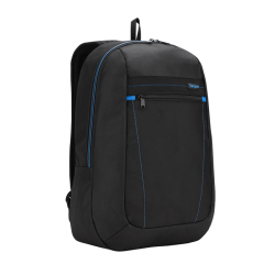 "Mochila Targus Blackpack Mod. TSB820US p/Laptop 14"" Blue/Black, Ligera y Económica"