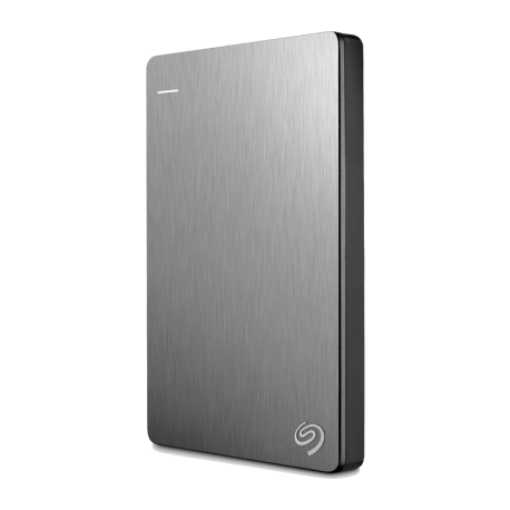 DISCO DURO EXTERNO SEAGATE 2TB SLIM BACKUP PLUS PLATA