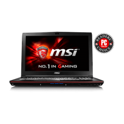 Laptop MSI GP62 6QE Intel Skylake Core i7 6700 HQ, 8 GB RAM DDR4, 1 TB Disco Duro, T. Video Nvidia GeForce GTX 950M, 15.6""