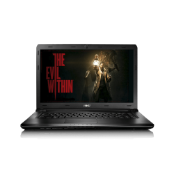 Laptop MSI CR43 6M Intel Skylake i3 6100 U, 4G RAM DDR3, Disco Duro 500 GB, T. Video Integrada, 14""