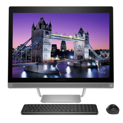 "All in One HP 27-A002LA Core i7, 16GB RAM, 3TB DD, T. Video Nvidia GT930 4GB, LED Full HD Touch 27"", Windows 10"
