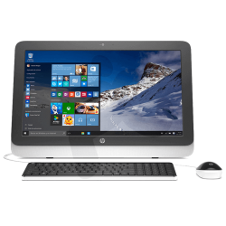 "All In One HP 23-R155LA AMD A6, 4GB RAM, 1TB DD, T. Video AMD Radeon R4, DVD, LED Full HD 23"", Windows 10"