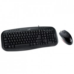 Kit Teclado + Mouse Genius USB