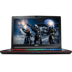 "Laptop MSI GE72 VR 6RF Intel Core i7-6700HQ, 16GB RAM, 1TB DD, T.Video NVIDIA Geforce GTX 1060VR 6GB, LED Full HD 17.3"", Win. 10"