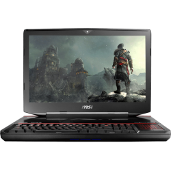 Laptop MSI GT83VR 6RE Titán SLI, Intel Core i7-6820HK, 16GB RAM, 1TB DD, T.Video NVIDIA GeForce GTX 1070 8GB, LED Full HD 18.4""