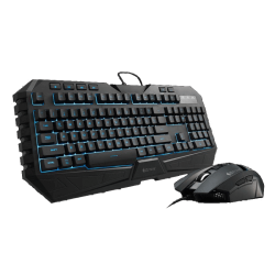 Kit Gamer Teclado + Mouser CM Storm Octane Gaming Gear Combo / USB 2.0