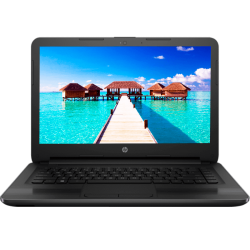 "Laptop HP 240 G5 Intel Celeron N3060 1.60GHZ, 4GB RAM DDR3, 500GB DD, T.Video Intel HD, DVD,14""HD, FreeDos"