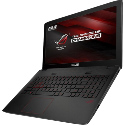 "Laptop Asus Gamer Rog GL552VW-DM797T Intel i7-6700HQ, 12GB RAM, 1TB DD, T.Video GTX 960M 4GB GDDR5, DVD, LED 15.6"", Windows 10"