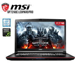 Laptop MSi GP72 6QE Leopard Pro Core i7 6700HQ Skylake, 8GB RAM, 1TB DD, T. Video NVidia GTX950M 2GB, LCD Full HD 17.3""