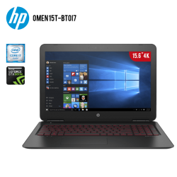 "Laptop HP Omen 15T-BT0I7 Core i7 6700HQ 2.6GHZ, 16GB RAM, 2TB DD, T.Video GTX 960M 4GB DDR5 ,15.6"" 4K , Windows10"