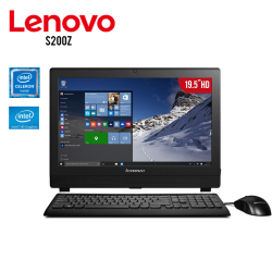 "All In One Lenovo S200Z Intel Celeron N3050,4GB RAM, 500GB HDD, T,Video HD Graphics, DVD±R/RW, 19.5"" LED, Free Dos"