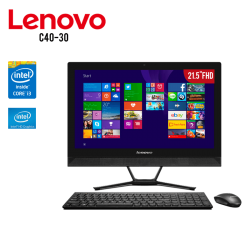 "All In One Lenovo C40-30 i3-5005U, 4GB RAM, 1TB DD, T.Video HD Graphics, 21.5"" FHD, DVD , W10"