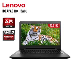 "Laptop Lenovo IdeaPad 110-15ACL AMD A8-7410, 8GB DDR3 RAM,1TB, T.Video Integrado, DVD-RW, 15.6""HD, Sistema Operativo FreeDos"