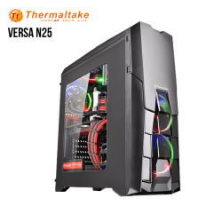 Case Thermaltake Versa N25 ( CA-1G2-00M1WN-00 ), Mid Tower, Sin Fuente, Black