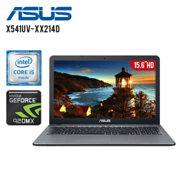 "Laptop Asus X541UV-XX214D Intel Core i5 6198DU, 4GB RAM, 500GB HD, T.VIDEO NVidia Geforce 920MX, DVD-RW, 15.6"", FreeDos"