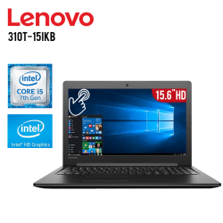 "Laptop Lenovo 310T-15IKB Core i5-7200U 2.5GHZ, 12GB RAM, 1TB DD, T.Video Integrado, DVD-RW, 15.6"" HD Touchscreen, Windows 10"