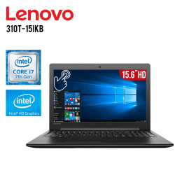 "Laptop Lenovo 310T-15IKB Core i7 12GB 1TB Tarjeta de video HD Graphics 15.6"" HD"