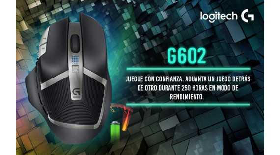 G602 Mouse Inalámbrico para Gaming